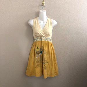 Lulumari Floral Print Sleeveless Dress